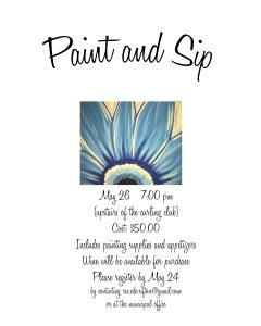 Paint and Sip @ Oak Lake Curling Club