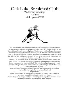 Breakfast Club @ Oak Lake Arena
