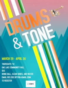Drum and Tone @ Oak Lake Community Hall