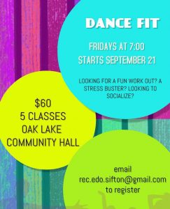 Dance Fit @ Oak Lake Curling Club