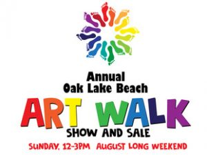 Oak Lake Beach Art Walk