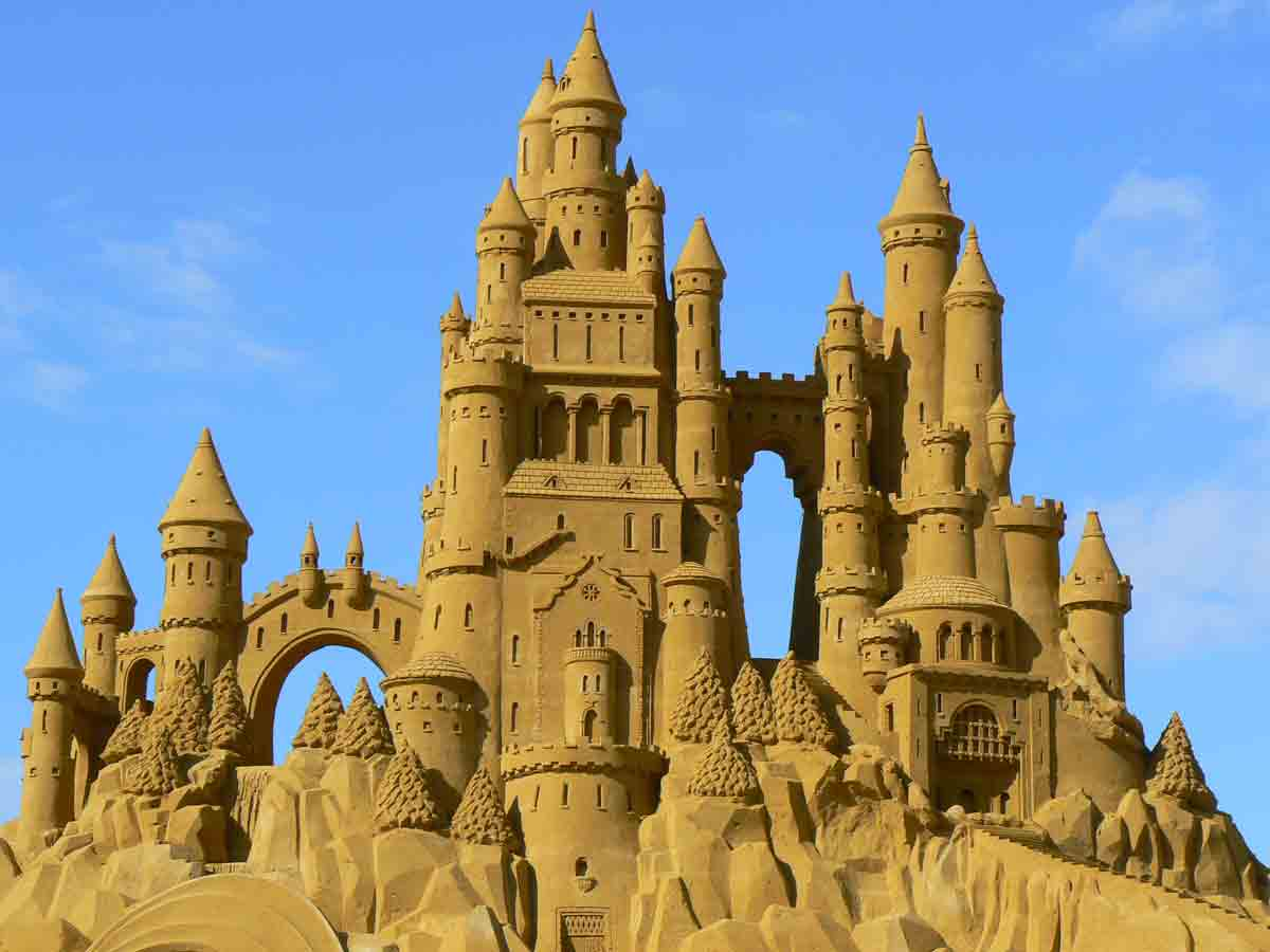 Sand Castle Building Contest